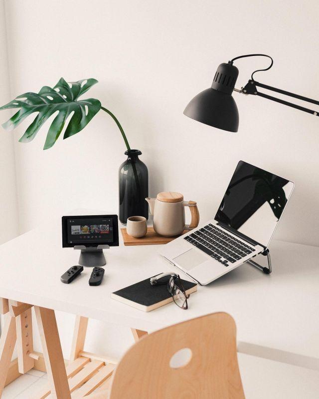 Productive Desk by @mavhn
