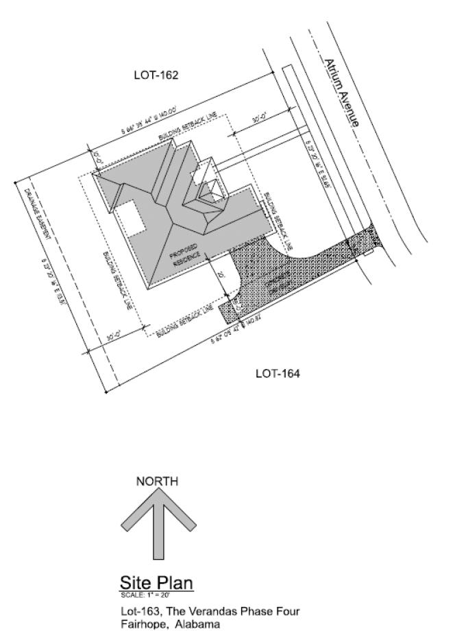 10904 Atrium Ave (Lot 163); Fairhope, AL 36532