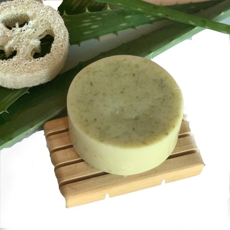 Aloe vera loofah soap
