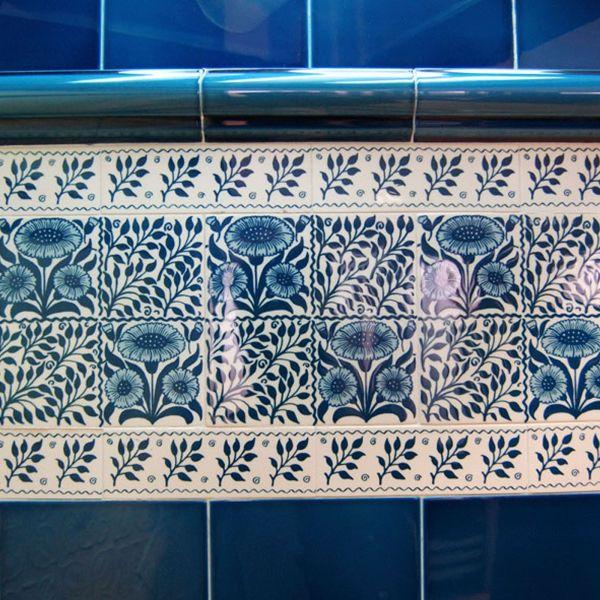Decorative Wall Tile Blue