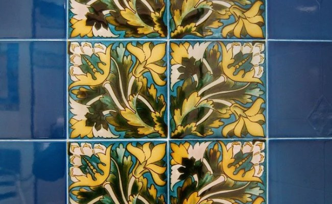 Victorian Maurice Decorative Tiles 152x152mm Exterior Use