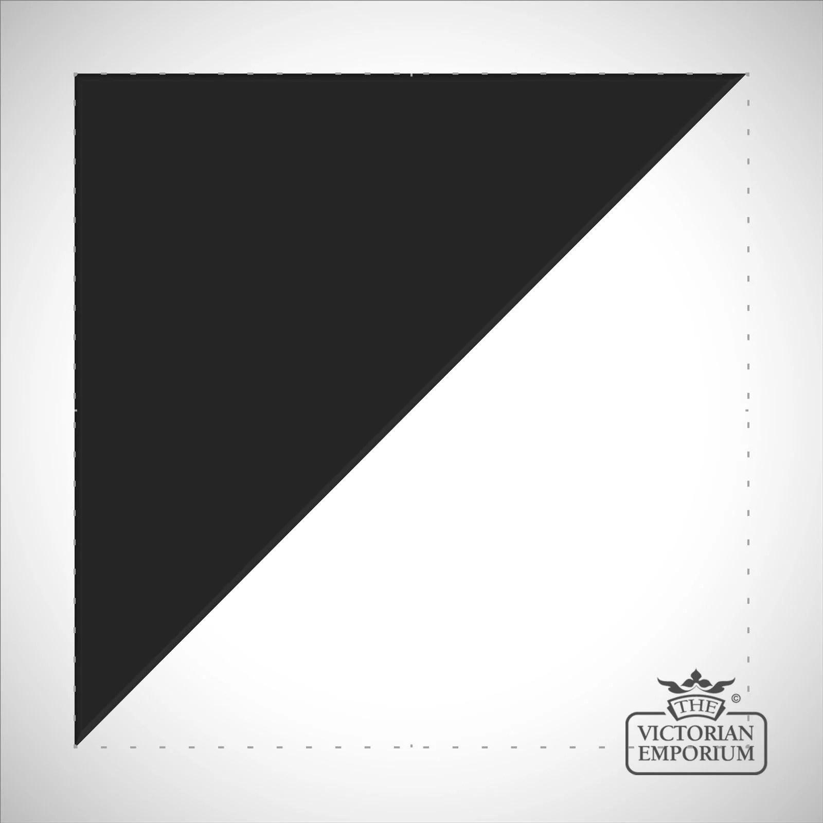 black triangle half square tiles