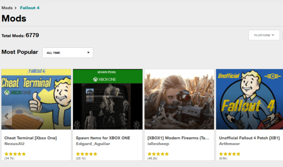 """Bethesda on Fallout 4 PS4 Mods: """"We Don't Lack for"""