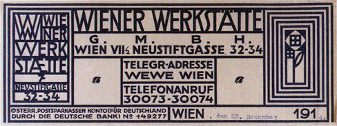 Wiener Werkstatte Art nouveau