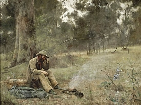 Down on His Luck - Frederick McCubbin