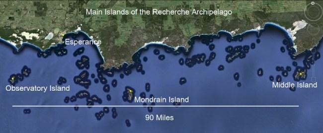 Mondarin to Middle Island