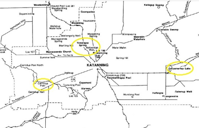 Katanning locations