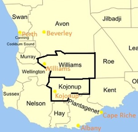 Williams Beverley Districts