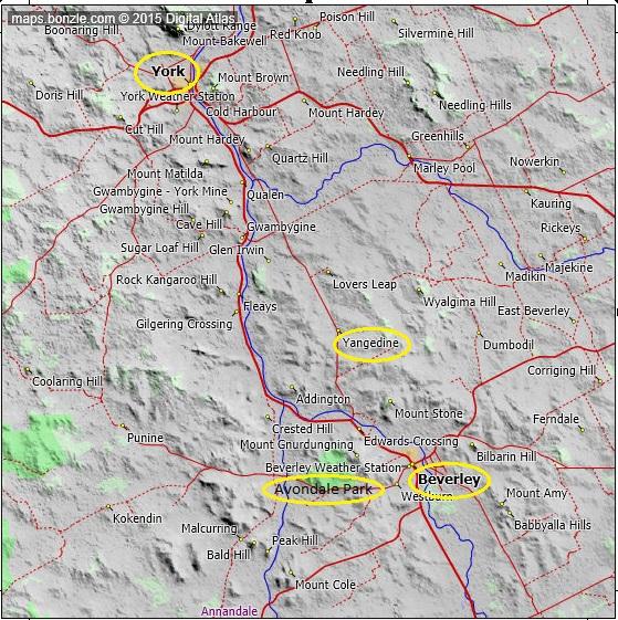 York Beverley Bonzle Map
