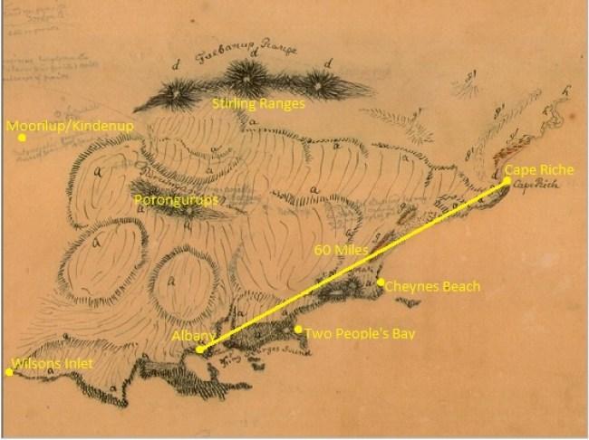 albany-to-cape-riche-von-summer-1848