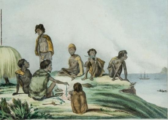 De Sainson - Habitants du Port du Roi