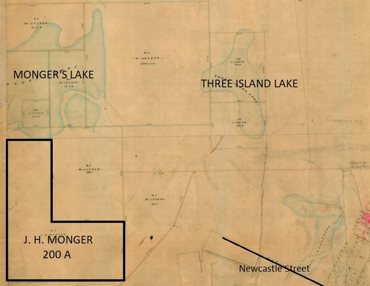 JH Monger Allotment - Lake Monger - 1858