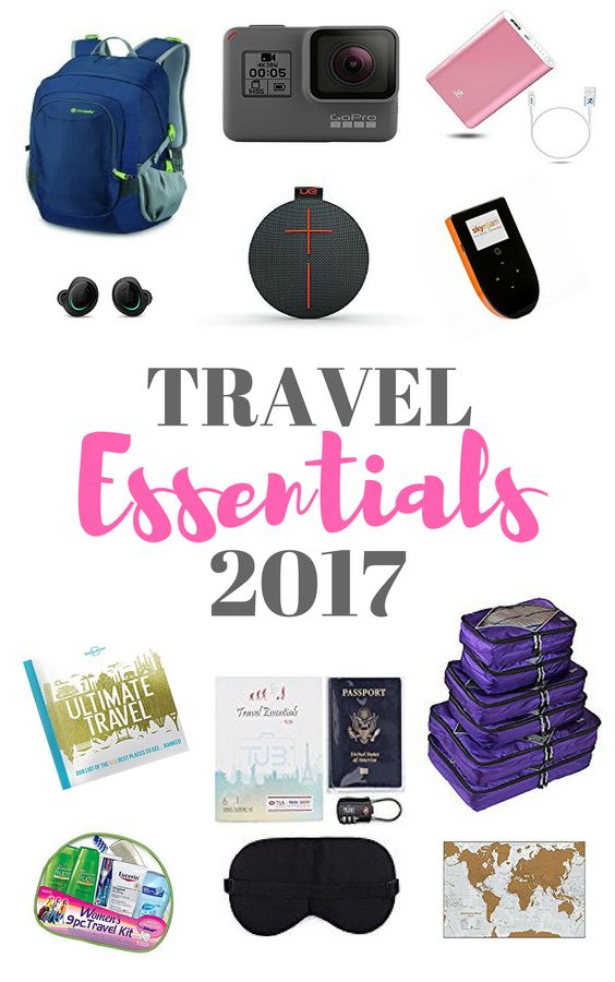 Essentials Travel Items For 2017 The Viking Abroad