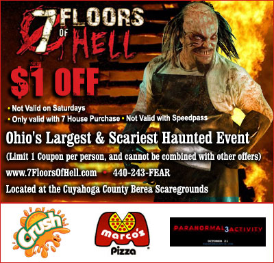 7 Floors Of Hell Cleveland Ohios Biggest And Best Haunted