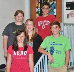 2013 Edon Music HS&JH Officers - LH (4) - web