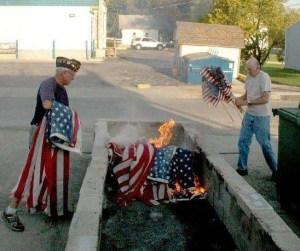WU Flag Disposal Ceremony - MM 015