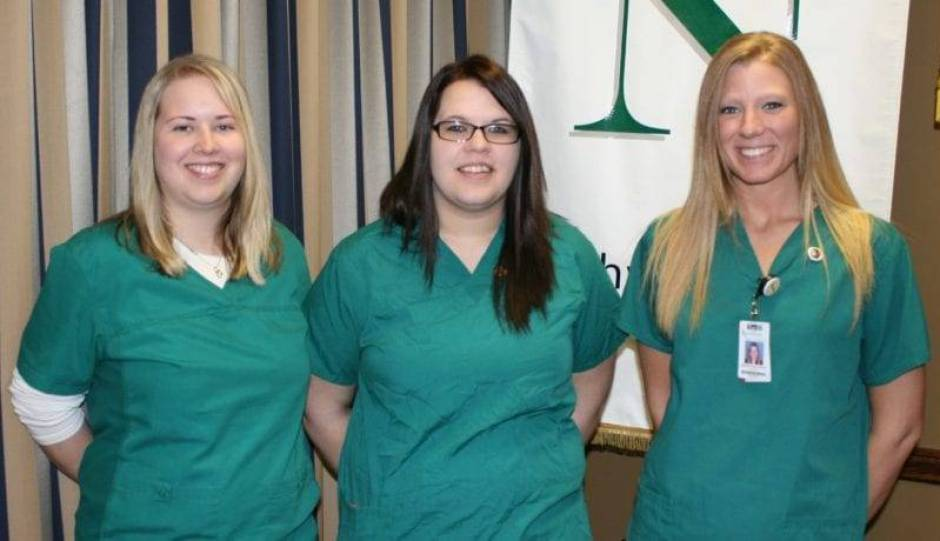 Williams County students are: Amanda Judkins (Bryan), Angela Rutledge (Bryan), Stephanie Wieland (Bryan).