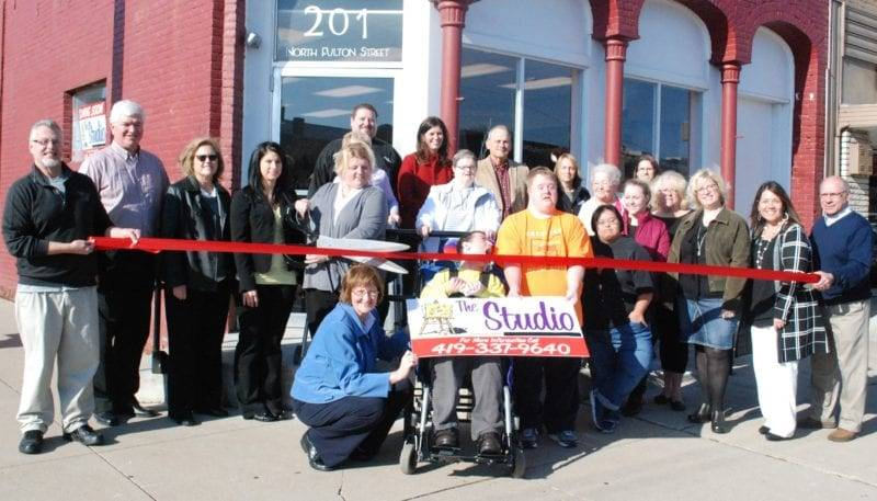 Wauseon Gives A Warm Welcome To The Studio With Ribbon Cutting