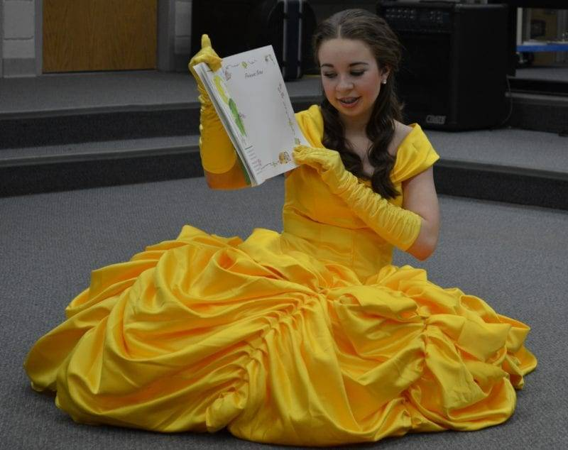 Have A Tea Party With Belle At The Bryan Main Library