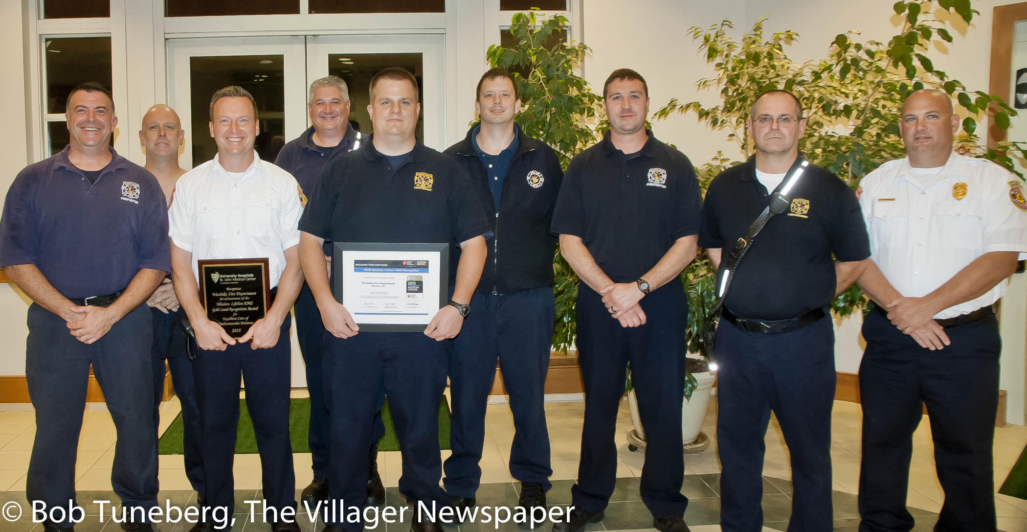 Westlake Safety Forces Honored