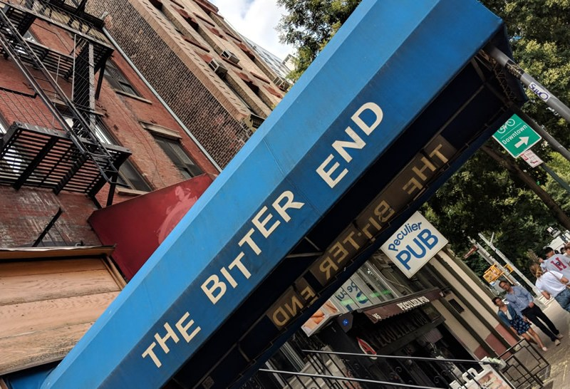 Legendary club, The Bitter End, to host a celebratory event for The Village Trip festival