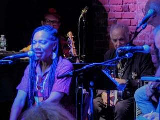 Martha Redbone with Aaron Whitby, David Amram and Michael Mark (Liz Thomson)
