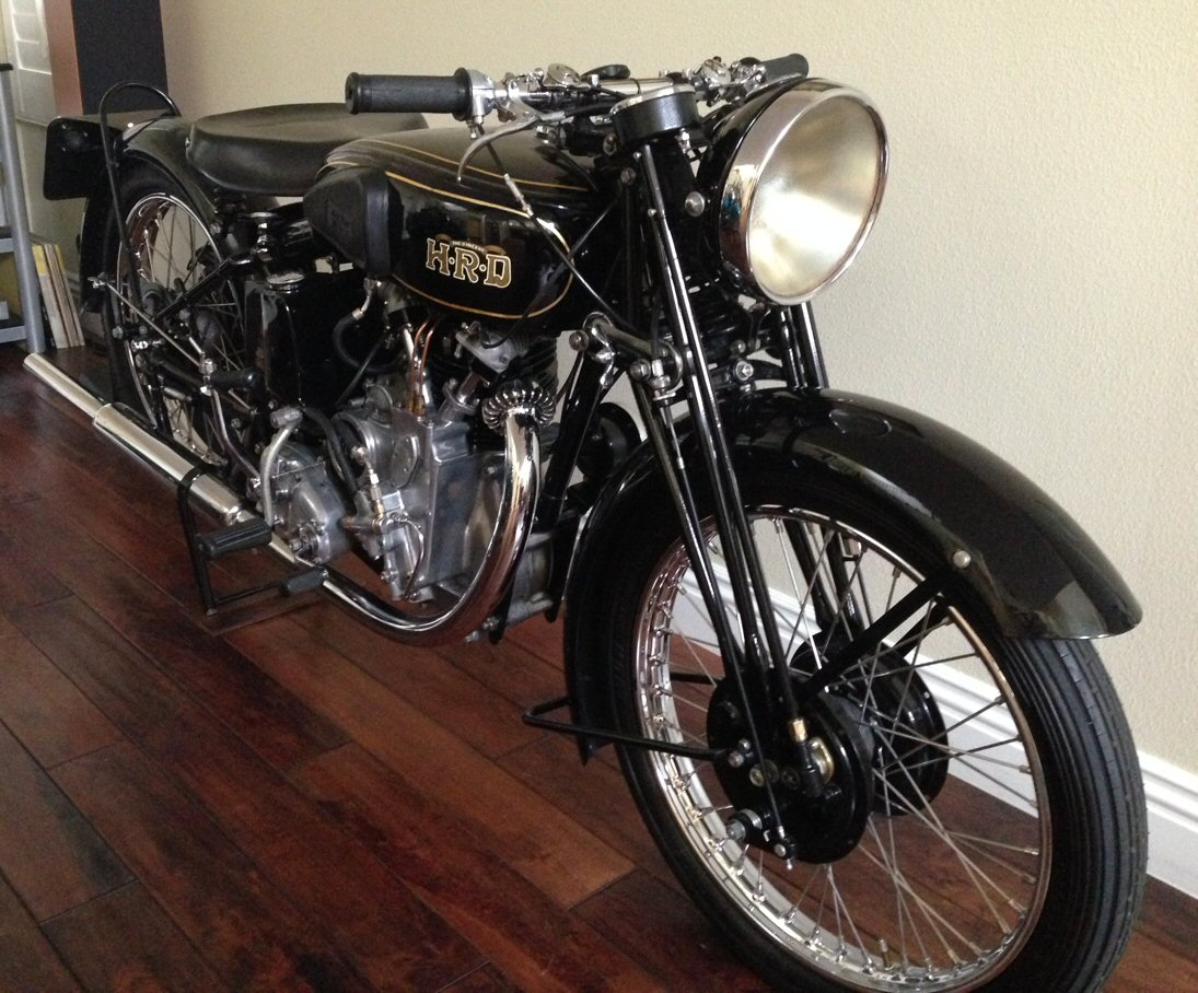 hight resolution of for sale 1937 hrd vincent meteor engine and frame numbers match the copy of the works order form which also specifies that motorbike was built for the