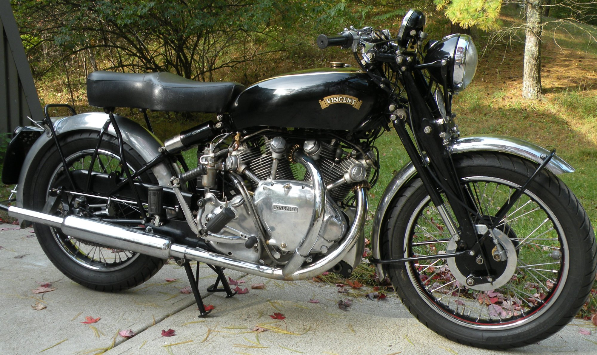 hight resolution of for sale 1952 vincent rapide totally rebuilt 3 years ago new barrels 9 1 pistons shadow carbs rebuilt by lund cylinder heads rebuilt by bewley