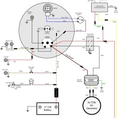 Wiring Diagram For 220 Volt Generator Plug Inside The Titanic Vincent Motorcycle Electrics