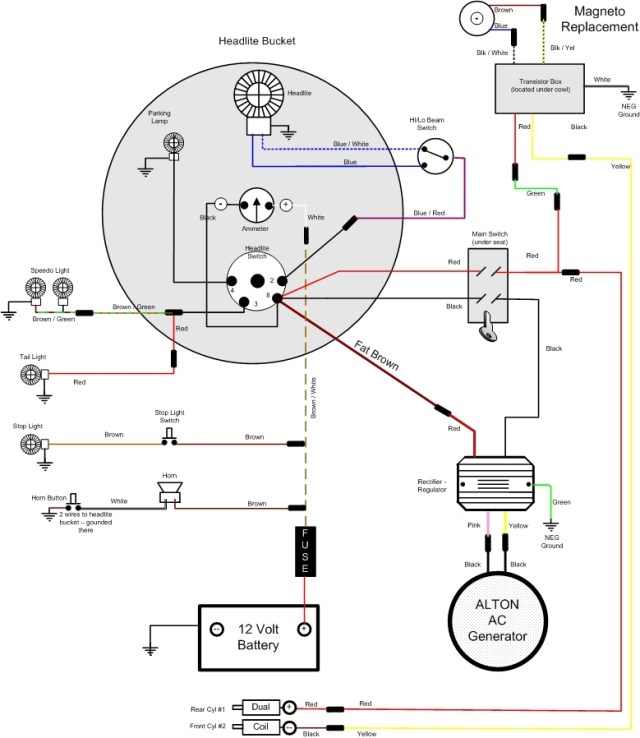 motorcycle ignition switch wiring diagram gm ignition switch wiring diagram kill switch vincent engine diagram | hobbiesxstyle