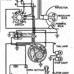 Wiring Diagram For 220 Volt Generator Plug Stihl Ms 440 Parts Vincent Motorcycle Electrics The First Upper Shows Insertion Of A Podtronics Rectifier Regulator And An 12 Alton