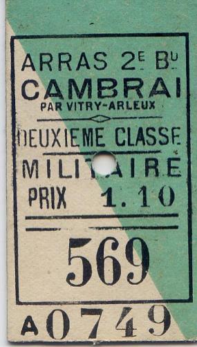 Train ticket 2