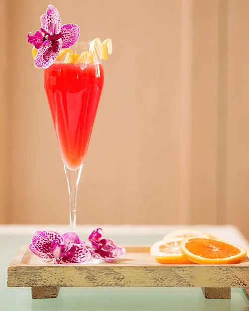 Cocktail Recipe:Blood Orange Mimosa
