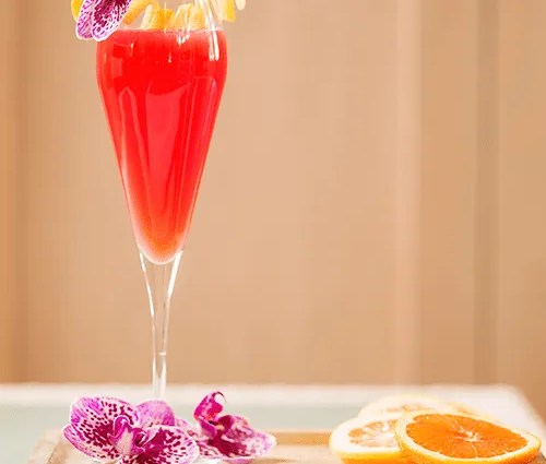 Blood-Orange Mimosa from Bottiglia