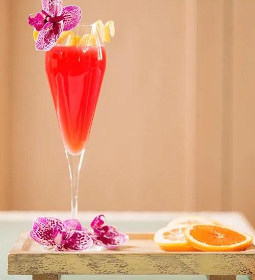 Blood-Orange Mimosa from Bottiglia