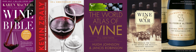Five Must Have Wine Books