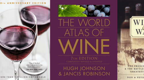 Five Must Have Books For Any Wine Lover
