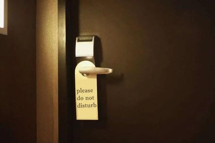 Do Not Disturb Sign