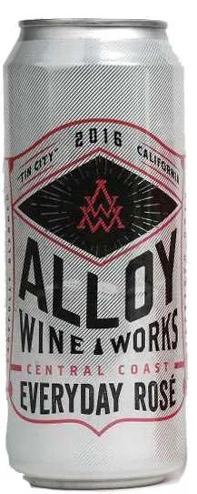 Alloy Wine Works Central Coast Everyday Rose Wine