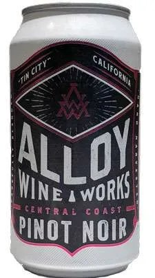 Alloy Wine Works Pinot Noir Central Coast Wine