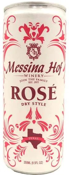 Messina Hoff Dry Style Rose Texas Wine