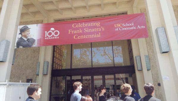 Frank Sinatra Hall at USC