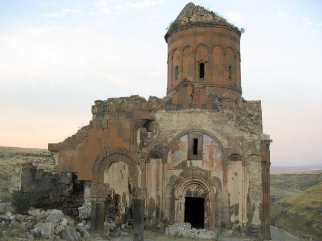 Saint Gregory of Tigran Honents, western side. Source