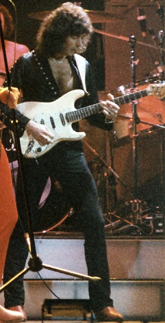 Ritchie Blackmore in San Francisco, 1985. Photo Credit