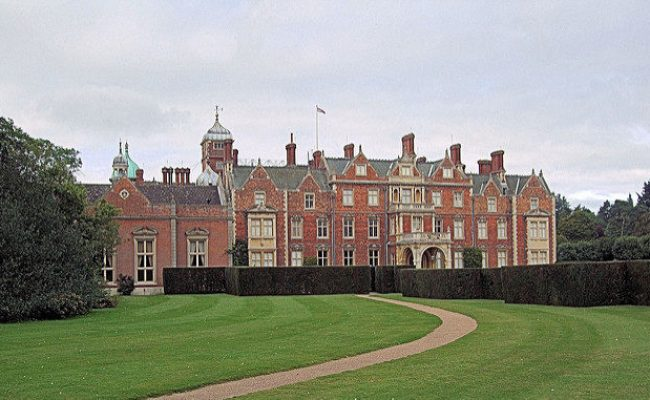 The Sandringham House In Norfolk England Has Been The