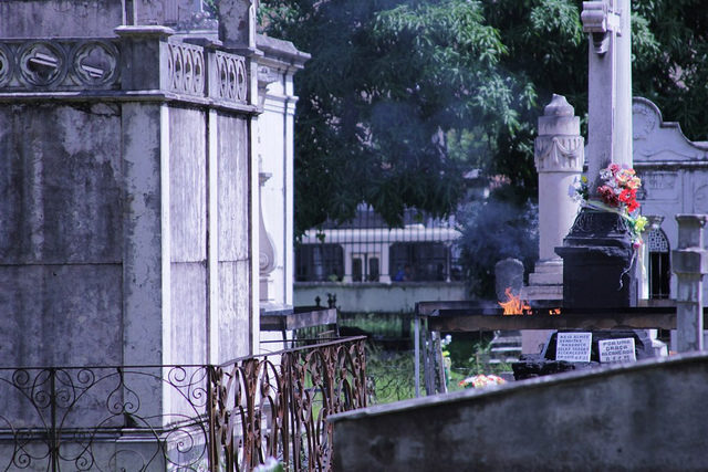 Anastacia's monument is located in Cemitério da Soledade, in Belem, Para, Northern Brazil. The cemetery was built in 1850, deactivated in 1880, and remodeled in 1913. Photo Credit