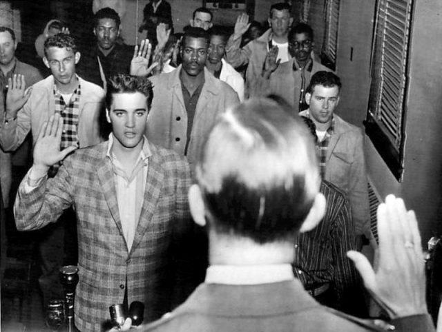 Elvis Presleys 1958 Service Overseas In The US Army