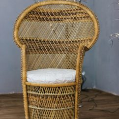 Rattan Peacock Chair Fisher Price Bouncy The Started As A Photography Prop Before Becoming Istock 657965136 427x640 Jpg