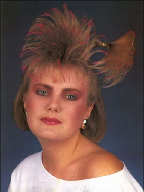 when hairspray reigned supreme