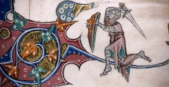 Why Were Medieval Knights Often Pictured Fighting Giant Snails?
